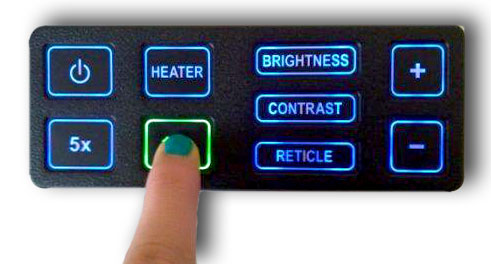 Control panels with intelligent and night backlight